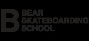 Bear skateboarding school